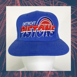 NBA New Era Detroit Pistons Snapback Hat